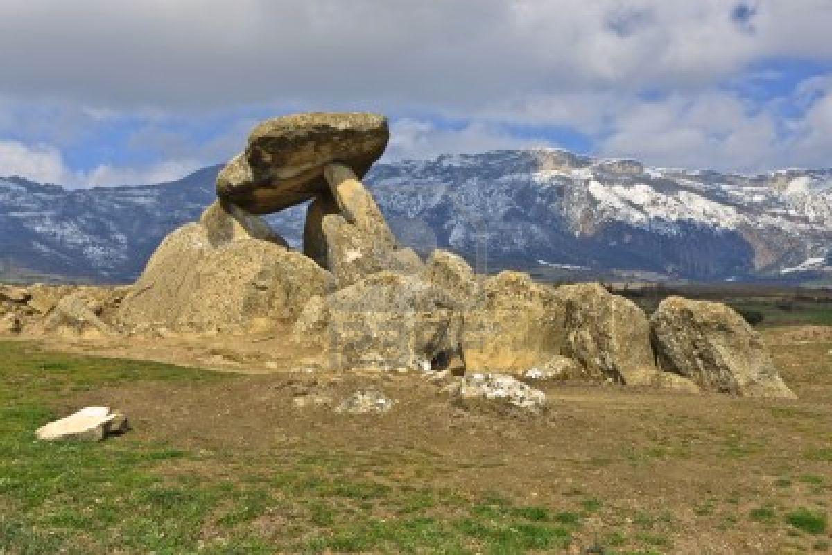 Alava Spain  city images : ... dólmenes » dolmen la chabola de la hechicera elvillar alava spain