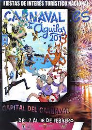 Cartel Carnaval Águilas 2013 Los Carnavales más divertidos y originales de España